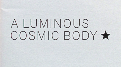 A luminous cosmic body *_thumb